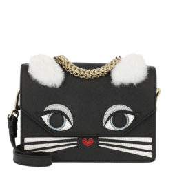 ac1cc61cb0cead Karl Lagerfeld Tasche – K/Klassik Fun Mini Handbag Black – in schwarz – für  Damen