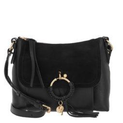 21eef58cd125e See By Chloé Umhängetasche – Joan Shoulder Bag Suede Black – in schwarz –  für Damen